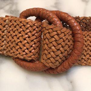 JCREW Woven Leather Belt